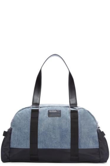 Diesel - Blue & Black DE-YANKI Duffle Bag