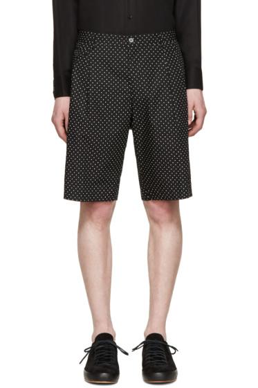 Dolce & Gabbana - Black Polka Dot Shorts