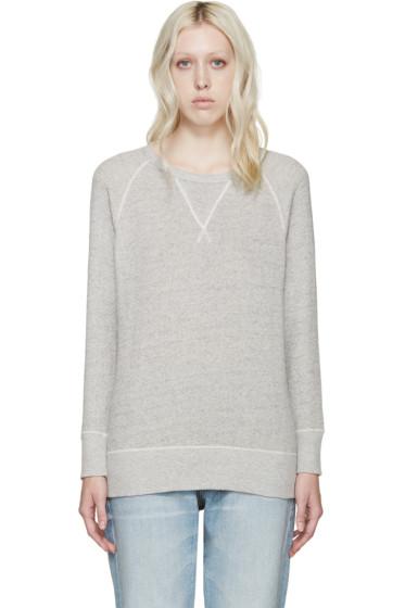 R13 - Grey Basic Sweatshirt