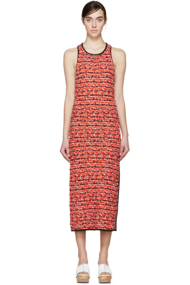 Rag & Bone - Red Knit Viola Dress