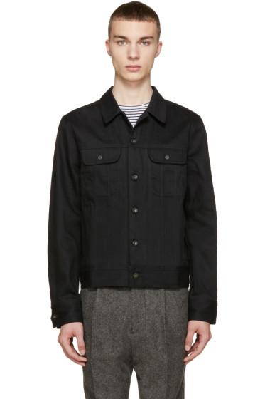 Rag & Bone - Black Twill Denim Jacket