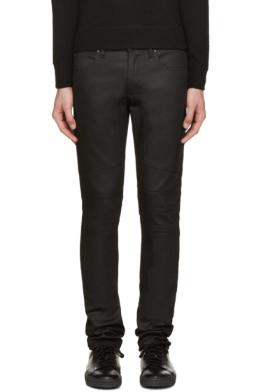 Belstaff - Black Twill Elmbridge Jeans