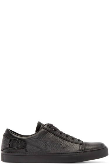 Belstaff - Black Leather Dagenham Sneakers