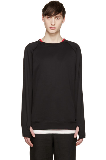 Diesel Black Gold - Black French Terry Pullover