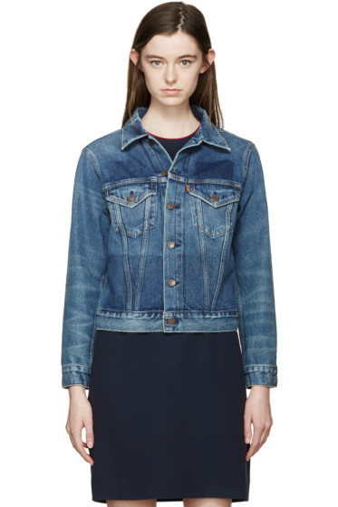 Levi's Vintage Clothing - Blue Denim Type III Jacket