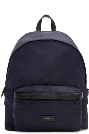 Moncler - Navy Nylon Backpack