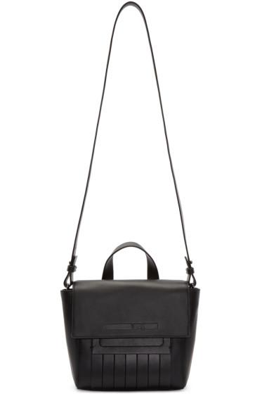 McQ Alexander Mcqueen - Black Leather Mini Satchel
