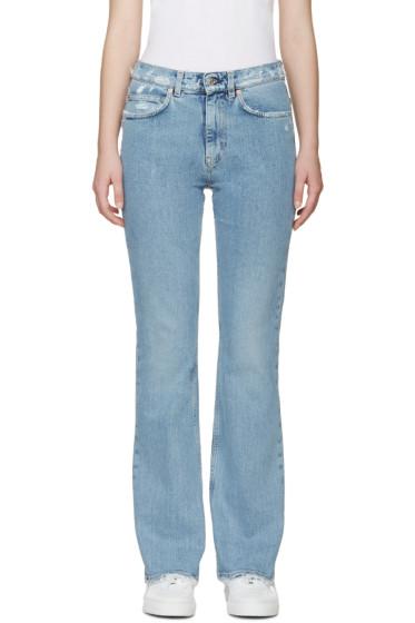 Acne Studios - Indigo Frayed Lita Jeans