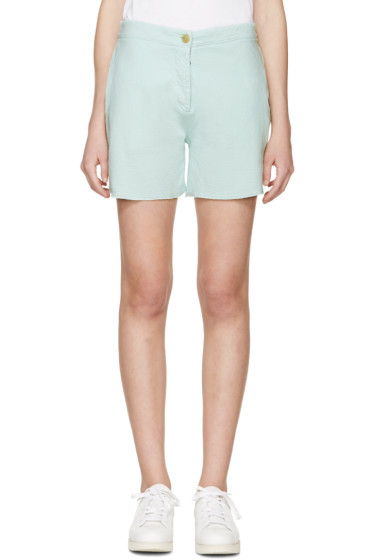 Acne Studios - Green Gioia Shorts