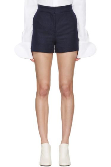 Acne Studios - Navy Canvas Callie Shorts