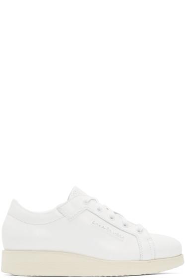 Acne Studios - White Leather Kobe Sneakers