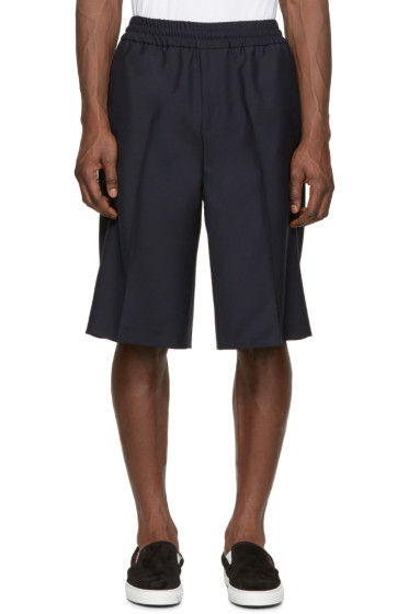 Acne Studios - Navy Wool Ryder Shorts