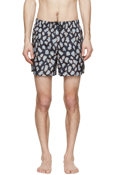 Acne Studios - Navy Perry Print Swimsuit