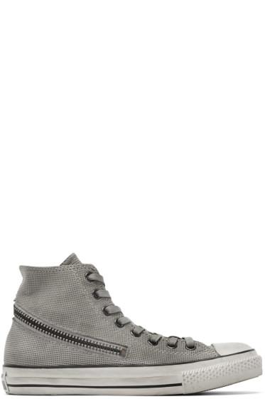 Converse by John Varvatos - Grey Tornado Zip High-Top Sneakers