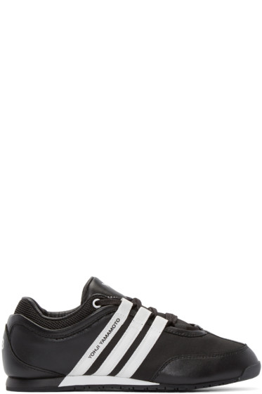 Y-3 - Black & White Boxing Sneakers