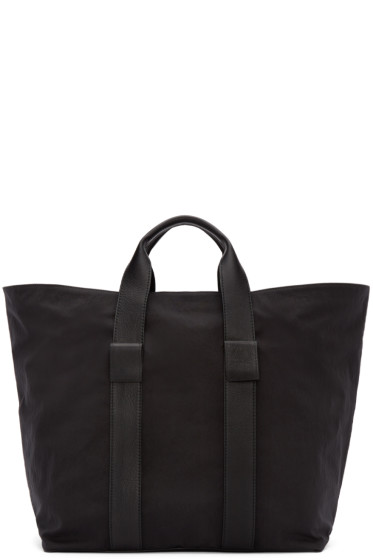 Dsquared2 - Black Leather & Nylon Tote