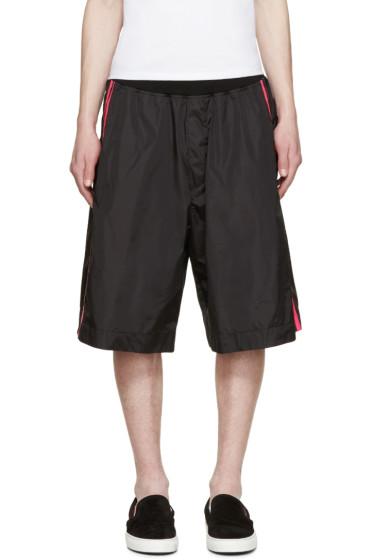 Dsquared2 - Black Neon Stripe Shorts