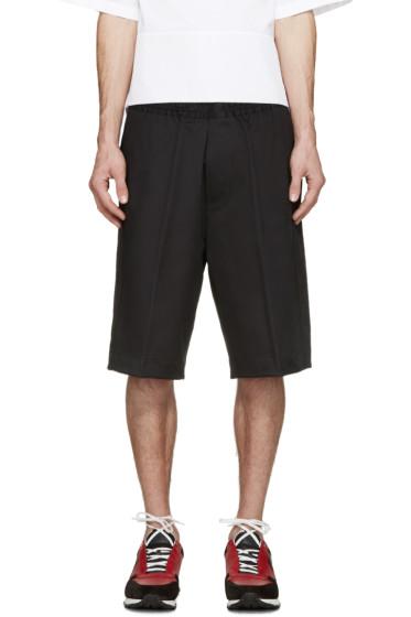 Dsquared2 - Black Racing Stripe Shorts