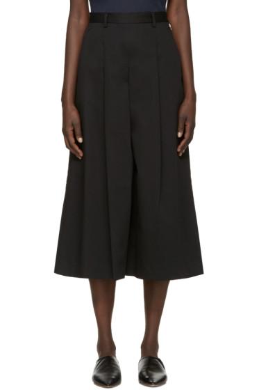 YMC - Black Twill Culottes