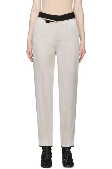 Maison Margiela - Grey & Black Reversible Trousers