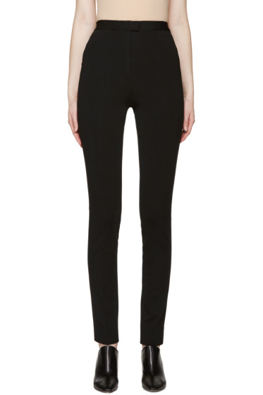 Maison Margiela - Black Pleated Trousers