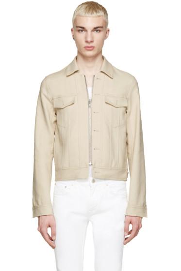 Maison Margiela - Beige Twill Jacket