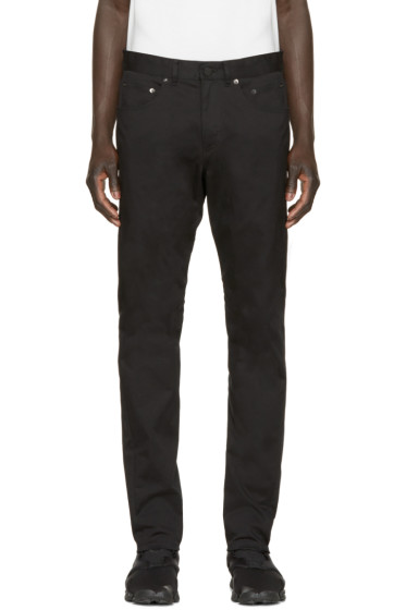 Alexander Wang - Black Twill Tailored Trousers
