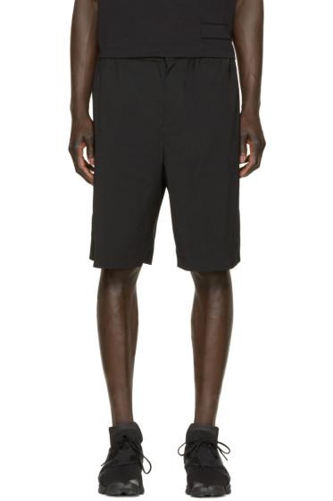 Alexander Wang - Black Wool Shorts