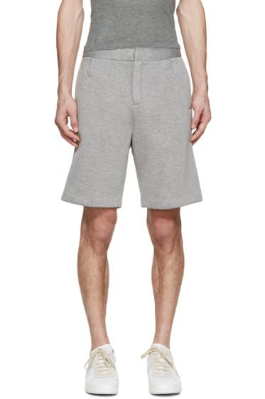 T by Alexander Wang - Grey Neoprene Shorts
