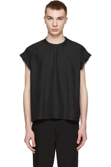 Robert Geller - Black Moritz T-Shirt