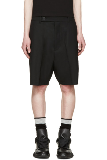 Rick Owens - Black Easy Astaires Shorts