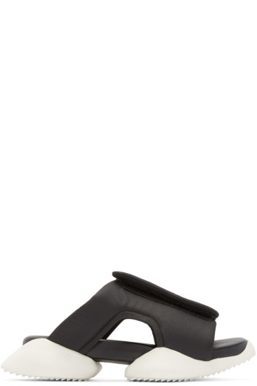 Rick Owens - Black & White adidas by Rick Owens Clog Sandals