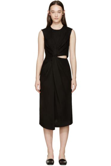 Jil Sander - Black Knot Adamantino Dress