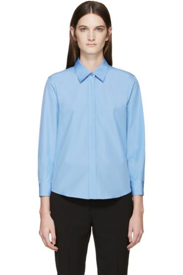 Jil Sander - Blue Poplin Shirt