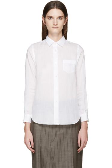 Junya Watanabe - White Linen Shirt