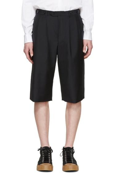 Junya Watanabe - Navy Tropical Wool Shorts