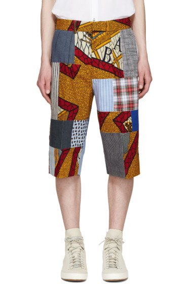 Junya Watanabe - Multicolor Patchwork Shorts