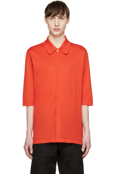 Paul Smith - Red Oversized Polo