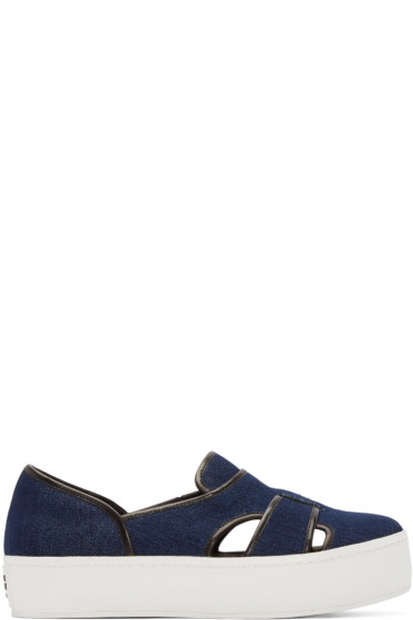 Opening Ceremony - Indigo Binx Slip-On Sneakers