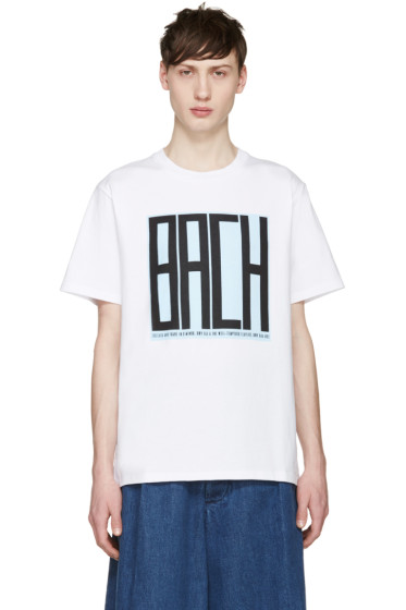 Opening Ceremony - White Bach T-Shirt