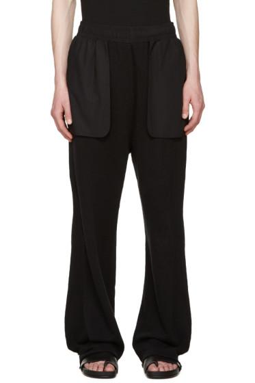 Damir Doma - Black Wide Pulya Lounge Pants