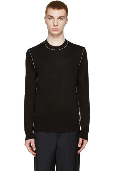 Comme des Garçons Shirt - Black Raw Edge Sweater