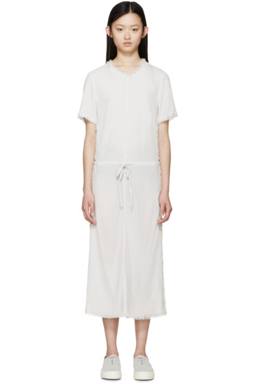 Raquel Allegra - Grey Crepe Bias Dress