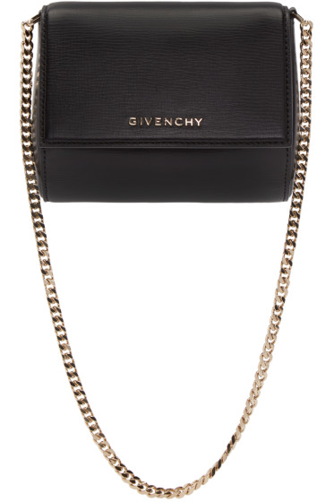 Givenchy - Black Minaudière Pandora Box Bag