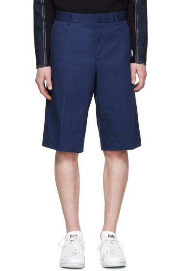 Givenchy - Blue Cotton Bermuda Shorts