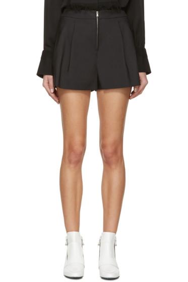 3.1 Phillip Lim - Black Wide-Leg Shorts