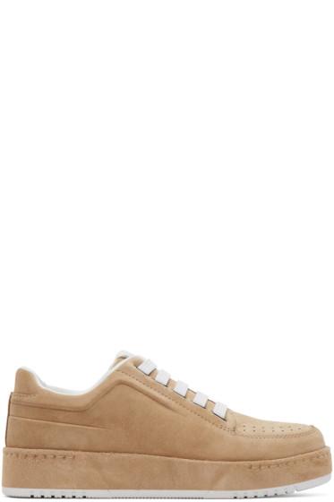 3.1 Phillip Lim - Beige Suede PL31 Sneakers