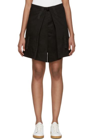 Raf Simons - Black Velcro Shorts