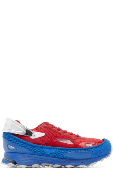 Raf Simons - Red & Blue Response Trail adidas by RAF SIMONS Sneakers