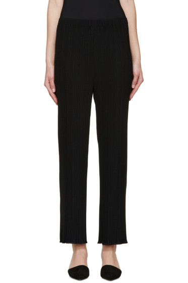 Proenza Schouler - Black Pleated Trousers